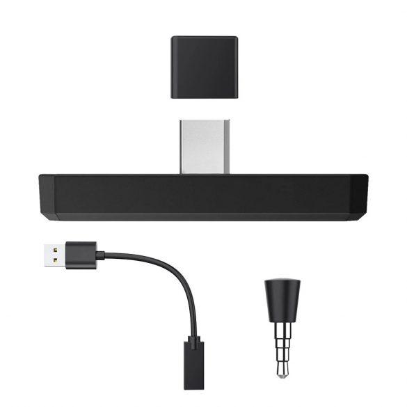 BlitzWolf® AirAux AA-BT2 - USB Type C - Trasmettitore musicale Bluetooth 5.0 per PC e Sony PS