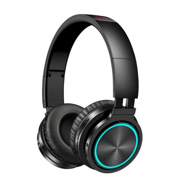 Blitzwolf® AirAux AA-ER1 Cuffia senza fili bluetooth portatile Cuffia sportiva per musica stereo over-ear portatile pieghevole con microfono