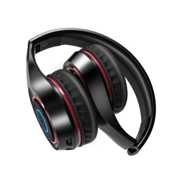 Blitzwolf® AirAux AA-ER2 Cuffia senza fili bluetooth portatile Cuffia sportiva per musica stereo over-ear portatile pieghevole con microfono