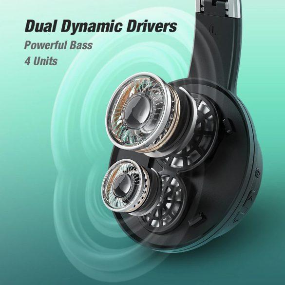 BlitzWolf® AirAux AA-ER3 - Cuffie Dual Dynamic Driver - lunga durata della batteria, potenziamento dei bassi