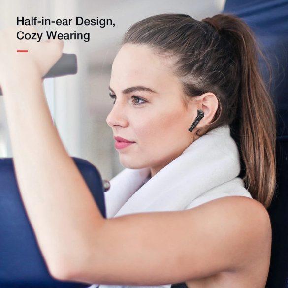 Auricolari BlitzWolf® AirAux AA-UM7 - HiFi Stereo Bass, Bluetooth 5.0, Touch Control, IPX5 - Nero