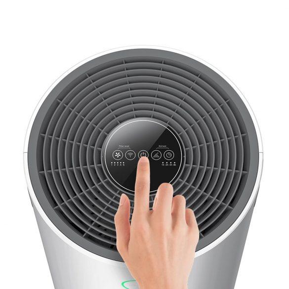Purificatore d'aria anionico intelligente BlitzWolf®BW-AP2 - 500 m³ all'ora, filtro 3 in 1, funzionamento silenzioso