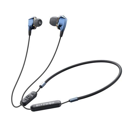 BlitzWolf-BW-BTS4 Auricolare bluetooth sportivo magnetico Cuffie IPX5