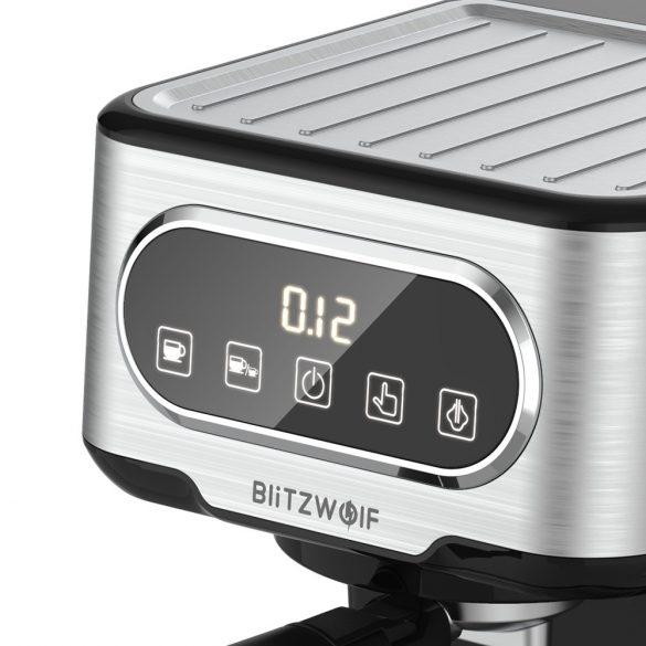 Macchina per caffè espresso BlitzWolf® BW-CMM2 - 20 bar, 1100 W, pulsanti a sfioramento