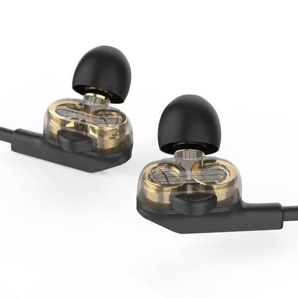 BlitzWolf® BW-ES6 - cuffia cablata con Dual Dynamic Driver