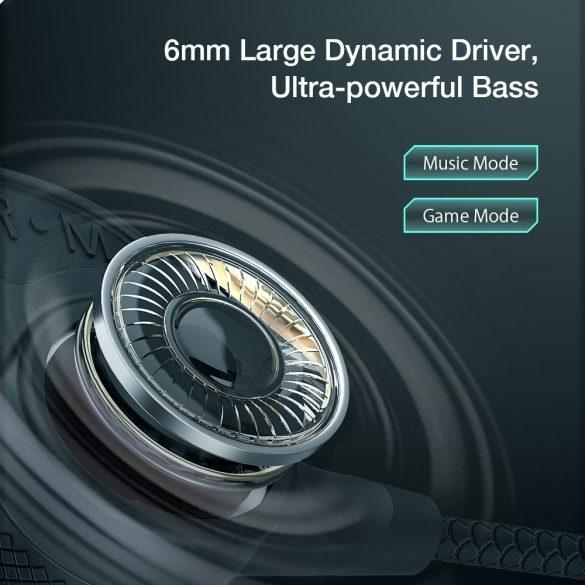 BlitzWolf® BW-FLB1 Auricolare da gioco bluetooth da appendere al collo - Driver dinamico, bassi potenti, modalità a basso ritardo, luce RGB, lunga durata della batteria