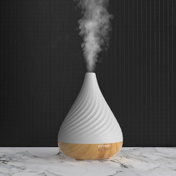 BlitzWolf® BW-Fun 12-200 ml vaporizzatore di aromi (diffusore) luce notturna - illuminazione RGB, 2 tipi di nuvole di vapore