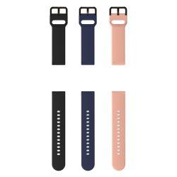BlitzWolf® BW-HL1 - óraszíj, fekete, kék és rózsaszín színekben