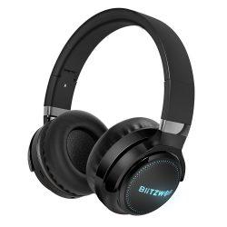 Cuffie BlitzWolf® BW-HP0 Pro - 42 ore di riproduzione, sistema audio HiFi, illuminazione RGB