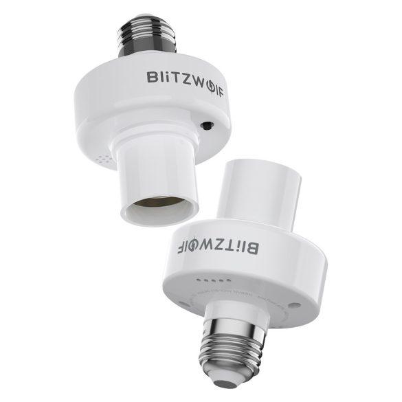 BlitzWolf®BW-LT30 E27 WIFI Supporto adattatore per base lampadina intelligente, app e controllo vocale