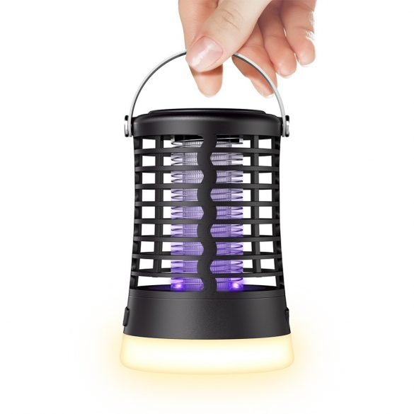 BlitzWolf®BW-MLT1 - Lampada UV anti-zanzare da esterno con batteria, impermeabile IP66