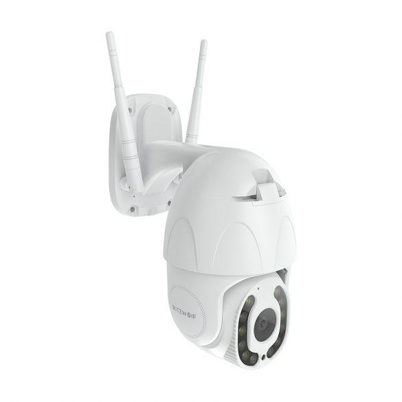 Blitzwolf® BW-SHC3 telecamera di sicurezza IP Smart WiFi per esterni: 1080P, visione notturna, rilevamento del movimento, IP64