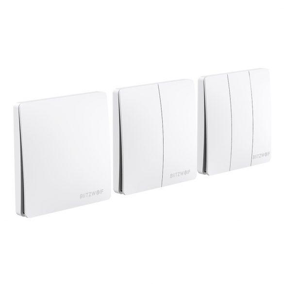 Smart Wall Switch - BlitzWolf® BW-SS2 interruttori da parete intelligenti RF 433Mhz - con energia cinetica (nessuna batteria richiesta)