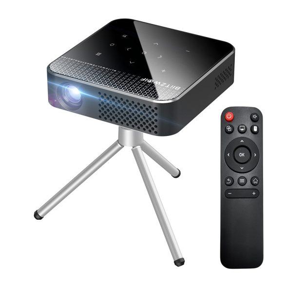 Mini proiettore per home cinema BlitzWolf® BW-VT1 - Sistema operativo Android, 854x480P, tecnologia DLP, colori vivaci
