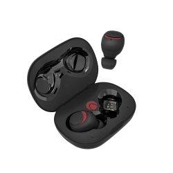 BlitzWolf® AIRAUX AA-UM1 Cuffie stereo Hi-Fi bluetooth 5.0 True Wireless con auricolare con custodia di ricarica - Nero