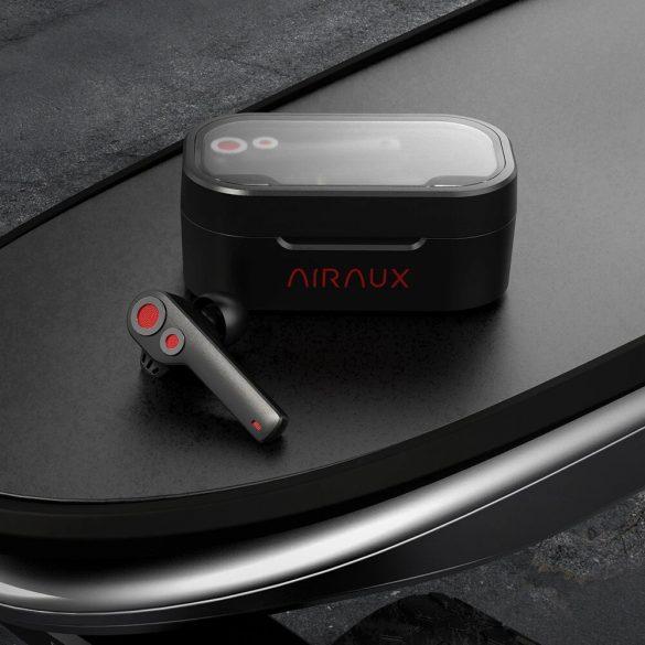 BlitzWolf® AirAux AA-UM6 TWS bluetooth 5.0 Auricolari Dual Dynamic Driver IPX5, Touch Control Tipo C carica - Nero