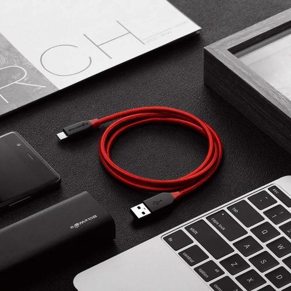 Cavo USB type C da 90 cm - BlitzWolf® BW-TC5 - Caricabatterie da 3 Amp, nichelato, copertura con perline