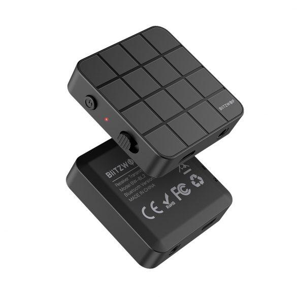 BlitzWolf® BW-BL2 bluetooth V5.0 HD Music Receiver Transmitter Audio adattatore 2 in 1