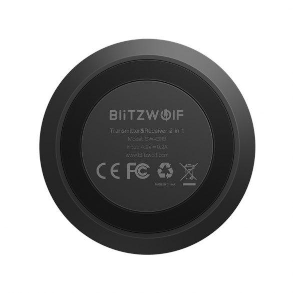 BlitzWolf® BW-BR3 bluetooth V4.1 Trasmettitore ricevitore musicale 3.5mm AUX Adattatore 2 in 1