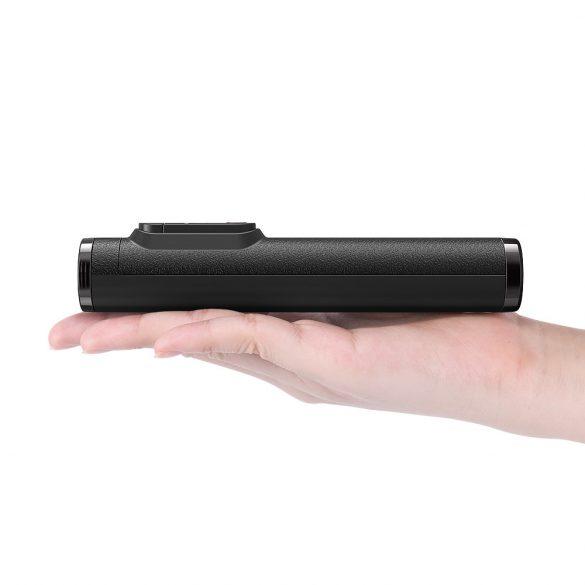 BlitzWolf® BW-BS9 Mini All In One Treppiede integrato Bluetooth staccabile Selfie Stick per telefono con fotocamera sportiva - Nero