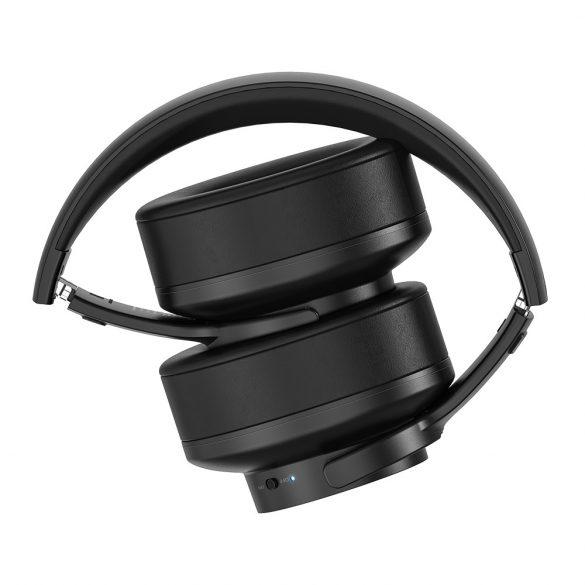 Blitzwolf® BW-HP2 Cuffia senza fili bluetooth portatile Cuffia sportiva per musica stereo over-ear portatile pieghevole con microfono