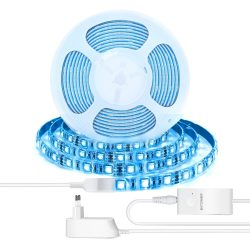 BlitzWolf® BW-LT11 2M / 5M Smart APP Control Kit di strisce luminose a LED RGBW funziona con Amazon Alexa Google Assistant