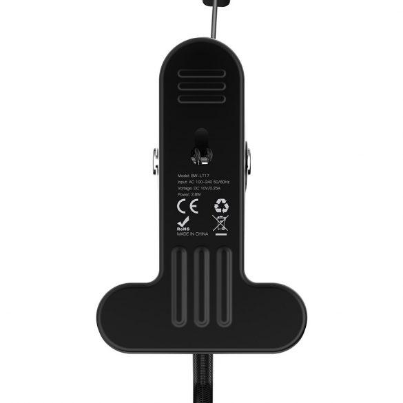 BlitzWolf® BW-LT17 2.8W Lampada da tavolo flessibile a clip da tavolo Sensore di tocco Lampada da lettura dimmerabile AC100-240V