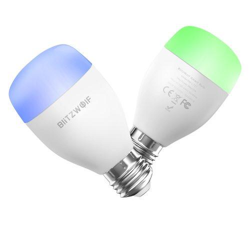 Smart LED Birne - Blitzwolf® BW-LT27 9W, 850lm, E27, App control.