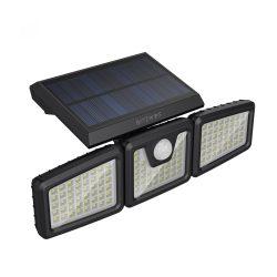 Lampada solare da esterno - BlitzWolf BW-OLT4 con rilevatore di movimento, resistente all'acqua IP64