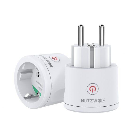 Blitzwolf® BW-SHP10 Presa Intelligente WiFi, Presa WiFi Amazon Smart Plug EU Socket, Prese Intelligente Multipla compatibile con Smartphone iOS Android App Presa Wireless