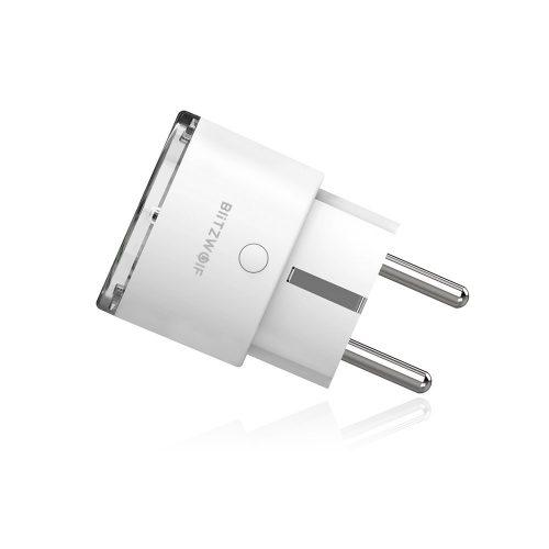 Blitzwolf® BW-SHP6 Presa Intelligente WiFi, Presa WiFi Amazon Smart Plug EU Socket, Prese Intelligente Multipla compatibile con Smartphone iOS Android App Presa Wireless, Port USB