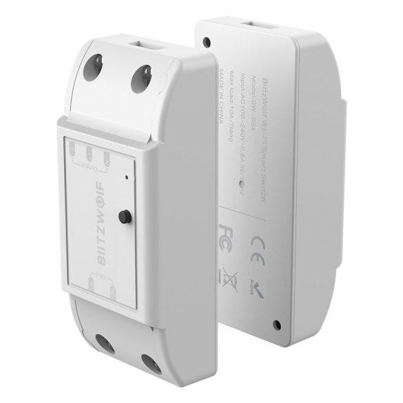BlitzWolf® BW-SS4 WiFi Smart Dual Switch Controller / 2200W Carico massimo, con controllo app, timer, controllo vocale.