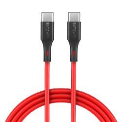 BlitzWolf® BW-TC17 3A Cavo dati di ricarica intrecciato USB di tipo C - USB di tipo C