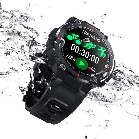 """Smartwatch sportivo (Grigio) Blitzwolf® BW-AT2 - 10-15 giorni di autonomia, display IPS da 1,3 """", innumerevoli funzioni integrate"""