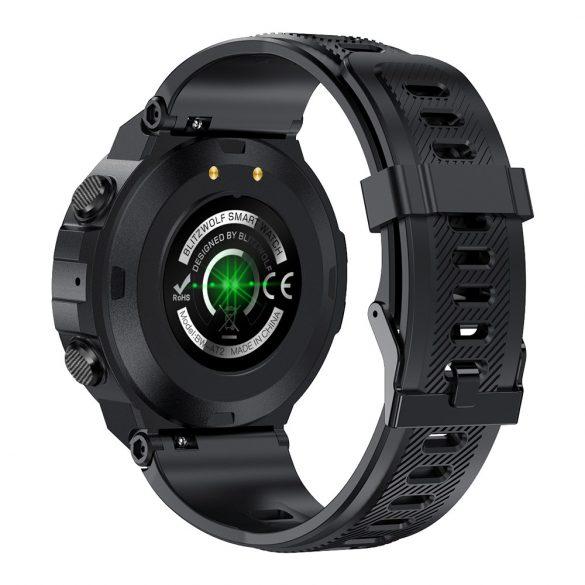 """Smartwatch sportivo verde Blitzwolf® BW-AT2 - 10-15 giorni di autonomia, display IPS da 1,3 """", innumerevoli funzioni integrate"""