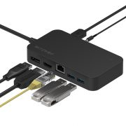 BlitzWolf® BW-TH7 Hub dati:  DC, USB, HDMI, Display, Jack, RJ45 ports