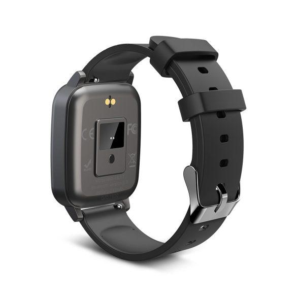 Blitzwolf® BW-HL1T IP68 Smartwatch Activity Monitor: monitor della temperatura, della pressione sanguigna e della frequenza cardiaca - Nero