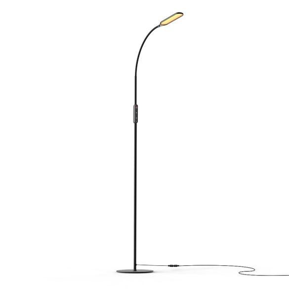 Lampada da terra dal design minimale - BlitzWolf® BW-LT28 - 600LM, temperatura e luminosità del colore variabili, telecomando