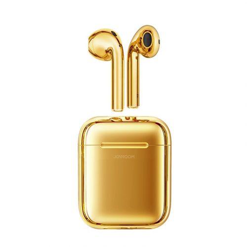 JOYROOM T03S TWS, color oro, Ricarica QI (wireless) supportata