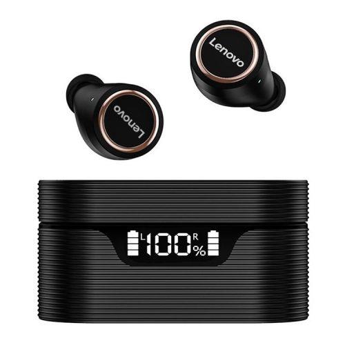Auricolare wireless Lenovo LivePods LP12 - Riduzione del rumore, indicatore di alimentazione, IPX5, 30 ore di funzionamento