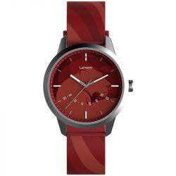 Orologio intelligente ibrido impermeabile - Lenovo Watch 9, resistenza all'acqua IP67 - rosso