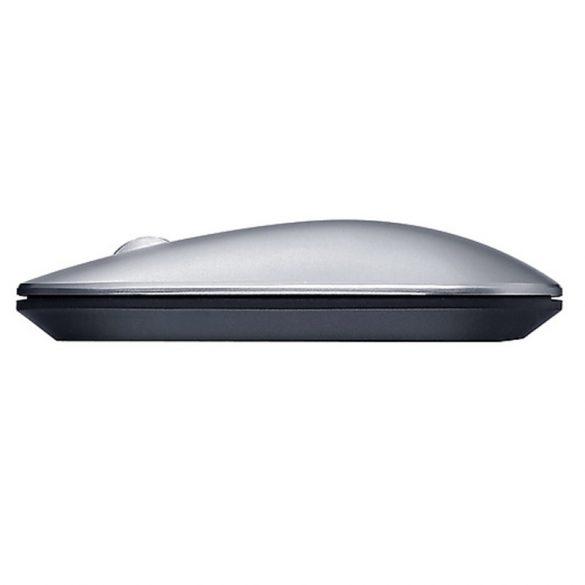 Mouse wireless Lenovo Air2 - Bluetooth + connessione wireless 2,4 GHz, portata 10 metri - Argento