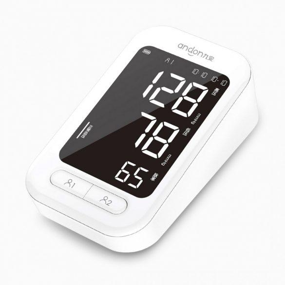 Xiaomi Youpin Andon 5907 - sfigmomanometro digitale automatico, pulsossimetro per cardiofrequenzimetro, tonometria, sfigmomanometro