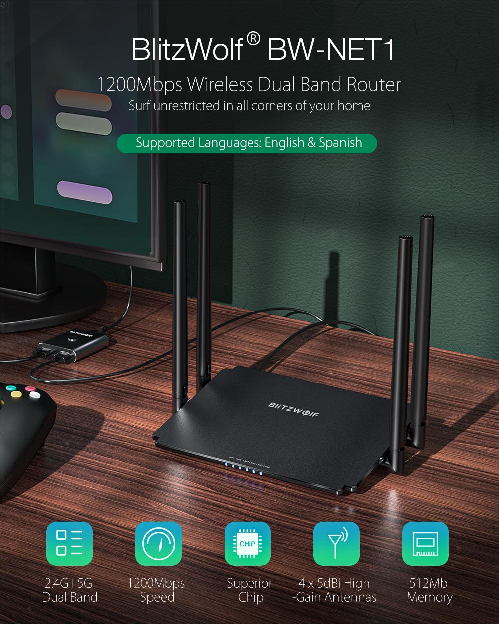 Blitzwolf BW-NET1 Router
