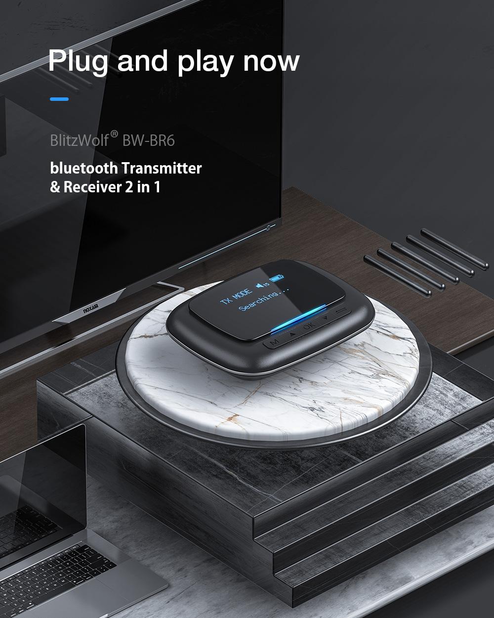 Blitzwolf BW-BR6 Bluetooth transmitter