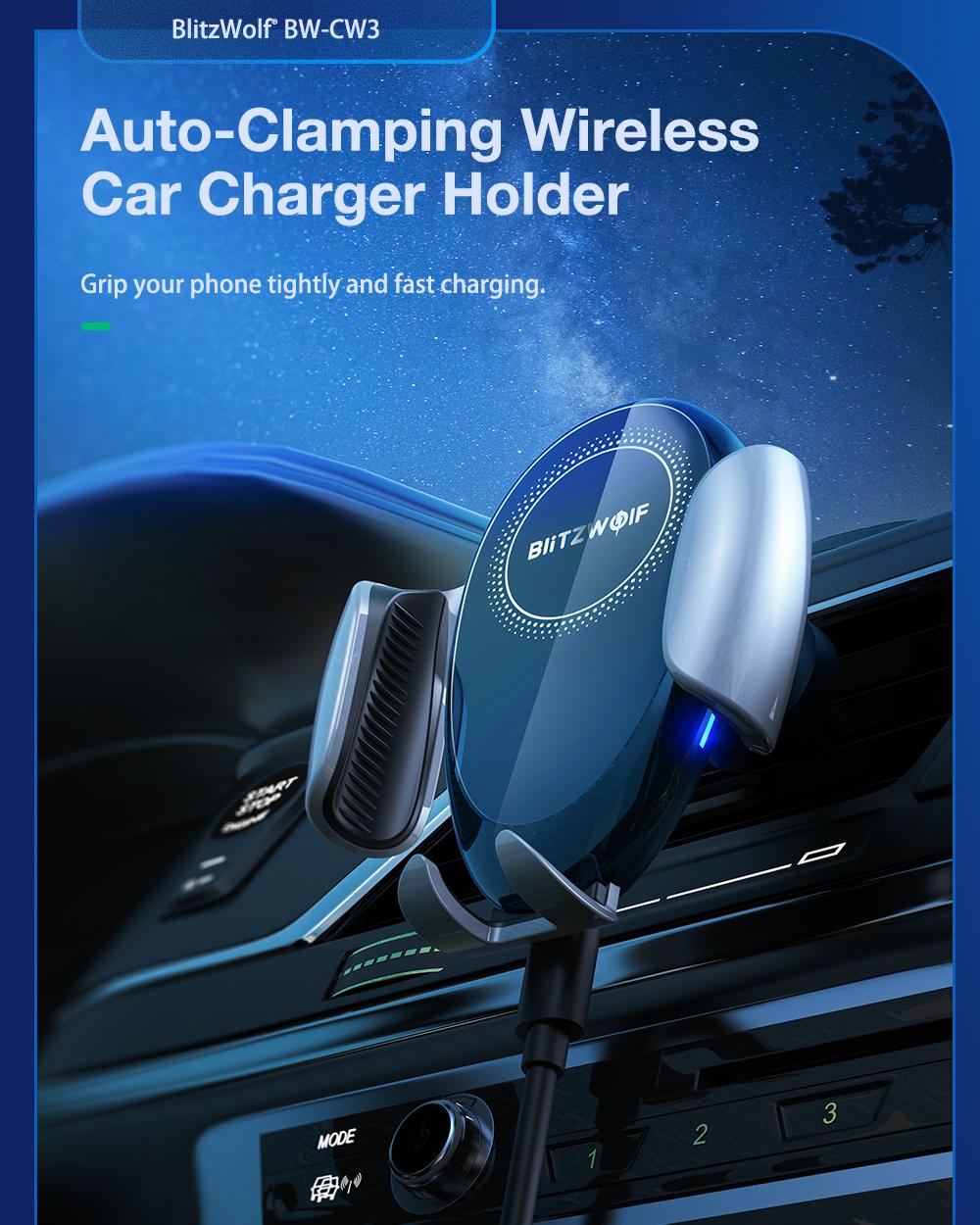 blitzwolf BW-CW3 car IQ charger