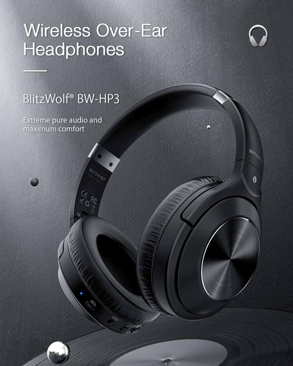 Blitwolf BW-HP3 headphone