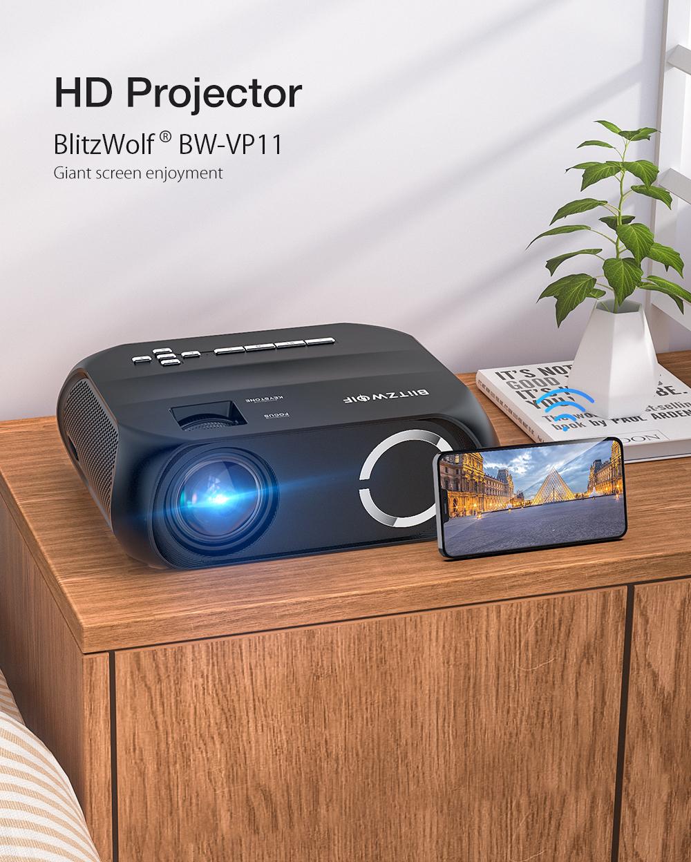 Blitzwolf BW-VP11 wifi projector